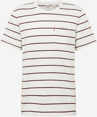 LEVI'S T-Shirt in rostrot / weiß, Produktansicht