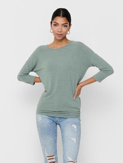 ONLY Shirt 'Glamour' in grün: Frontalansicht