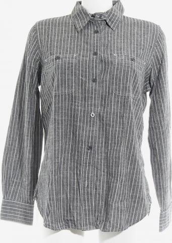 Lauren Jeans Co. Hemd-Bluse in M in Grau