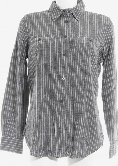Lauren Jeans Co. Hemd-Bluse in M in grau / weiß, Produktansicht