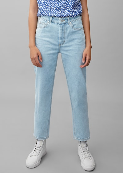 Marc O'Polo DENIM Jeans 'Töre' in pastellblau, Modelansicht