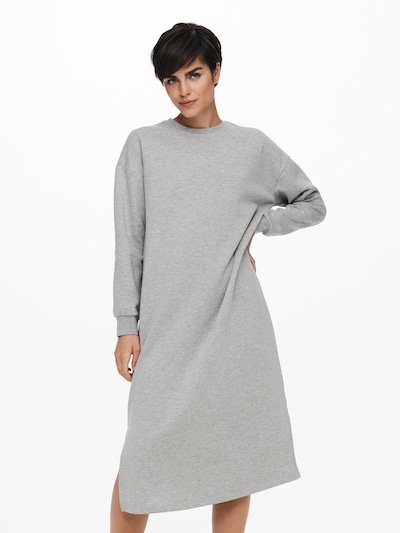 ONLY Kleid 'Adele' in graumeliert, Modelansicht