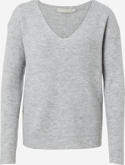PIECES Pullover 'Babett' in hellgrau, Produktansicht