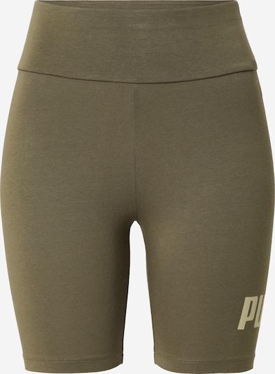 PUMA Workout Pants in Khaki / Light green, Item view