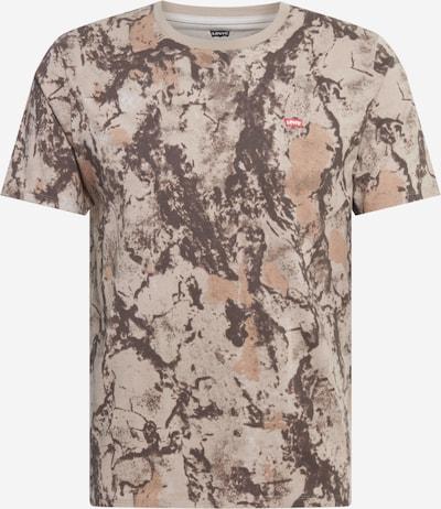 LEVI'S Shirt in kitt / hellbraun / dunkelbraun, Produktansicht