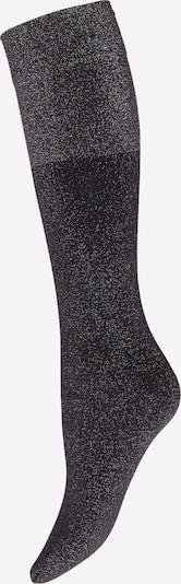 Wolford Chaussettes montantes 'Selene' en noir / argent, Vue avec produit