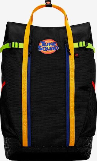 CONVERSE Rucksack in blau / neongrün / rot / orangerot / schwarz, Produktansicht