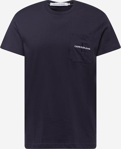 Calvin Klein Jeans T-Shirt en bleu nuit, Vue avec produit