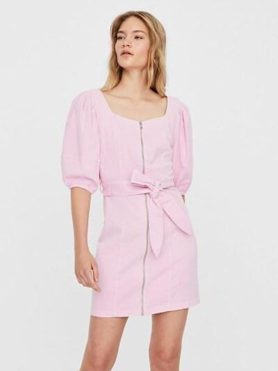 VERO MODA Gürtel Minikleid in rosa, Modelansicht