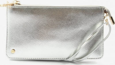 oasis Clutch in One Size in silber, Produktansicht