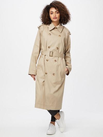 IVY & OAK Abrigo de entretiempo en beige, Vista del modelo