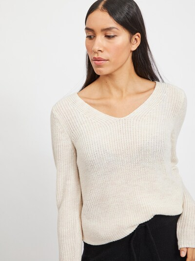 VILA Jersey 'Oktavi' en beige, Vista del modelo