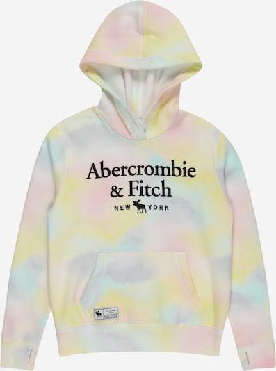 Abercrombie & Fitch Sweatshirt in türkis / gelb / flieder / schwarz, Produktansicht
