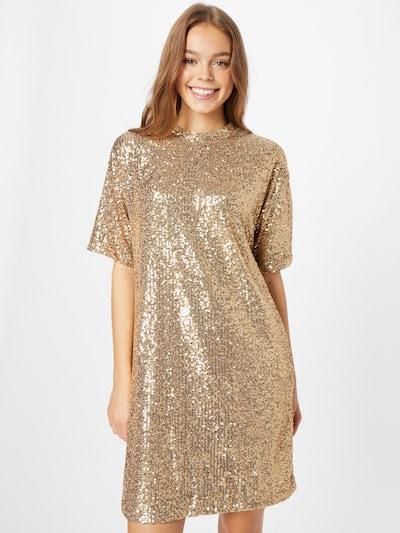 BOSS Casual Kokteilové šaty 'Esenni' - zlatá, Model/-ka