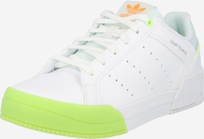 Sneaker 'COURT TOURINO' ADIDAS ORIGINALS di colore menta / verde neon / arancione / bianco, Visualizzazione prodotti