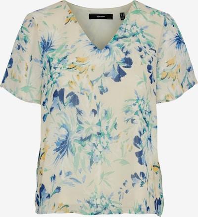 Tricou 'Jasmine' Vero Moda Petite pe bej / bleumarin / opal / galben auriu / verde pastel, Vizualizare produs