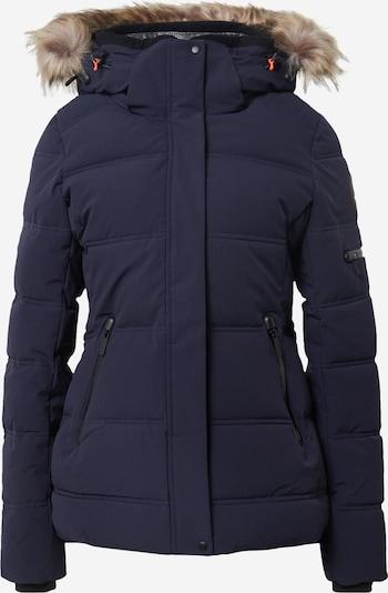 ICEPEAK Veste d'hiver 'Blackey' en bleu foncé / marron, Vue avec produit