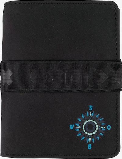 OXMOX Kreditkartenetui in blau, Produktansicht