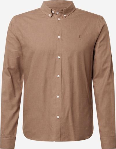 Les Deux Overhemd 'Harrison' in de kleur Bruin, Productweergave