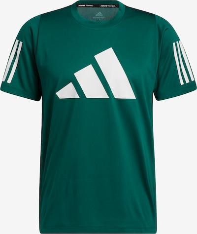 Tricou funcțional 'FreeLift' ADIDAS PERFORMANCE pe verde / alb, Vizualizare produs