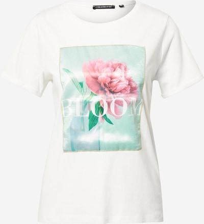 ONE MORE STORY Shirt in de kleur Mintgroen / Rosa / Natuurwit, Productweergave