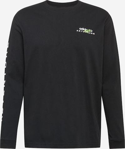 ADIDAS ORIGINALS Shirt in de kleur Zwart / Wit, Productweergave
