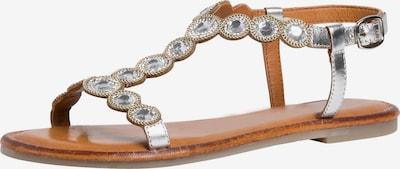 TAMARIS Sandalen met riem in de kleur Zilver, Productweergave