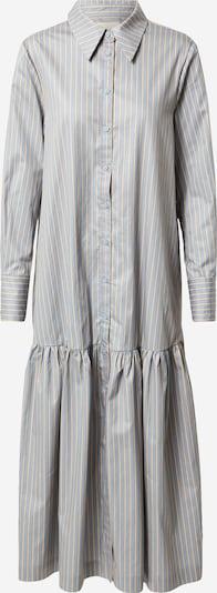 Esmé Studios Kleid 'Ethel' in rauchblau / gelb, Produktansicht