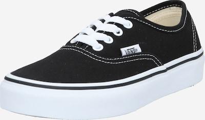 VANS Brīvā laika apavi melns / balts: Priekšējais skats