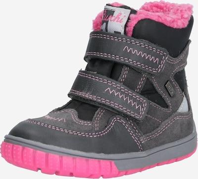 LURCHI Stiefel in grau / pink, Produktansicht