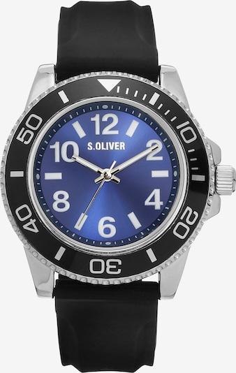 s.Oliver Quarzuhr 'SO-4235-PQ' in blau / schwarz / silber, Produktansicht