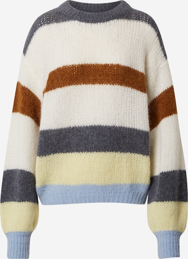 LeGer by Lena Gercke Pullover 'Holly' in creme / braun / grau, Produktansicht