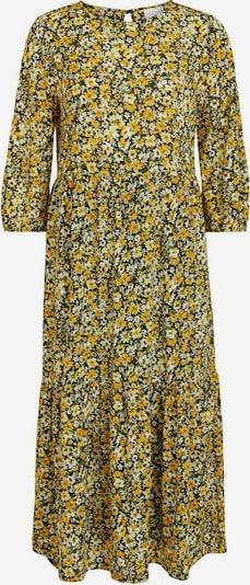 VILA Kleid in gelb / hellgelb / schwarz, Produktansicht