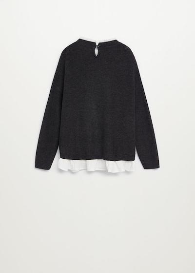 MANGO KIDS Pullover in dunkelgrau, Produktansicht