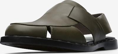 CAMPER Sandales en vert, Vue avec produit