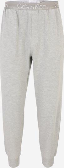 Calvin Klein Underwear Pyjamahose in hellgrau / weiß, Produktansicht