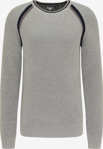 DreiMaster Maritim Sweater in Grey