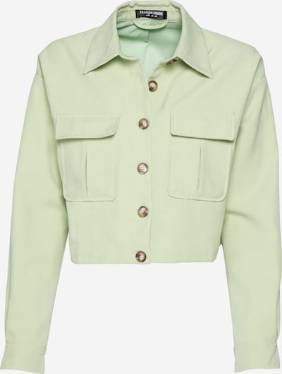 Fashion Union Veste mi-saison 'Jessie' en vert, Vue avec produit