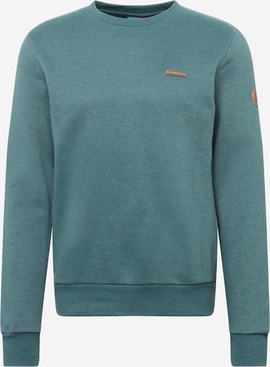 Ragwear Sweatshirt 'INDIE' in de kleur Smaragd, Productweergave