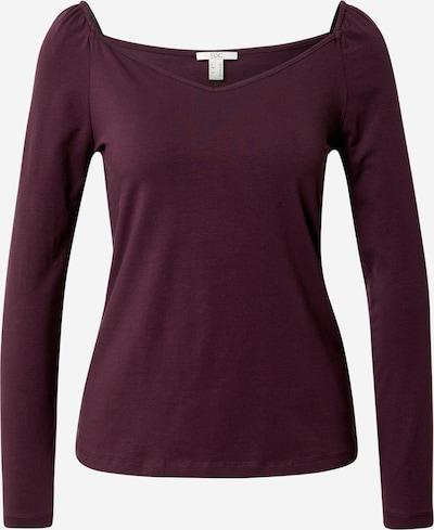 EDC BY ESPRIT Shirt in aubergine, Produktansicht