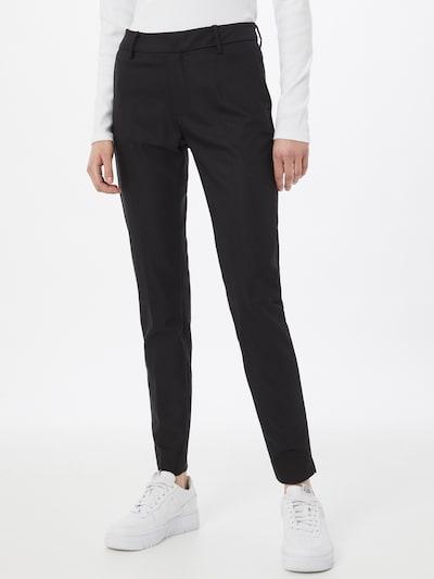 Pantaloni 'Abbey' MOS MOSH pe negru, Vizualizare model