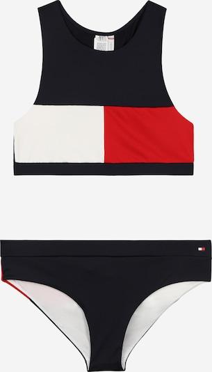 TOMMY HILFIGER Bikini in dunkelblau / rot / weiß, Produktansicht