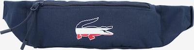 LACOSTE Gürteltasche in navy / rot / weiß, Produktansicht