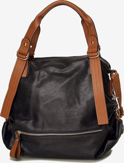 Emma & Kelly Shopper in schwarz, Produktansicht