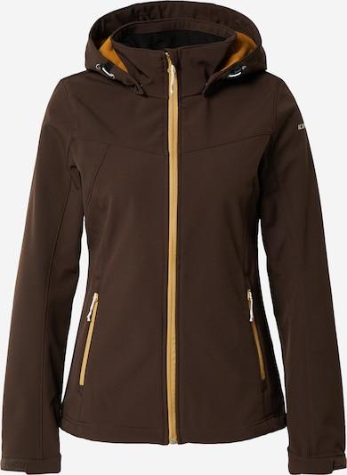 ICEPEAK Outdoor jakna 'BRENHAM' u tamno smeđa, Pregled proizvoda