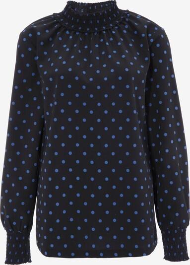 Aniston CASUAL Bluse in blau / schwarz, Produktansicht