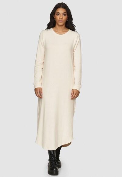 Cotton Candy Sweatkleid 'TILDA' in beige, Modelansicht