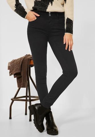 STREET ONE Jeans in Zwart