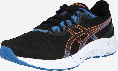 ASICS Zapatillas de running 'GEL-EXCITE 8' en azul / naranja oscuro / negro, Vista del producto