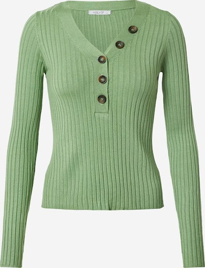 Hailys Pulover | zelena barva, Prikaz izdelka